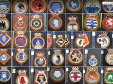 Various Ships Crests For Sale