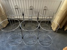 6 x NAWA Stainless Steel Fender Baskets For Sale £80