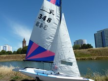 For Sale - Hoby 405 Sailing Dinghy - £450