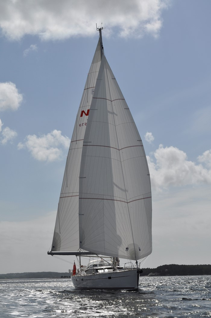 A Sail Management System for Safer Downwind Cruising