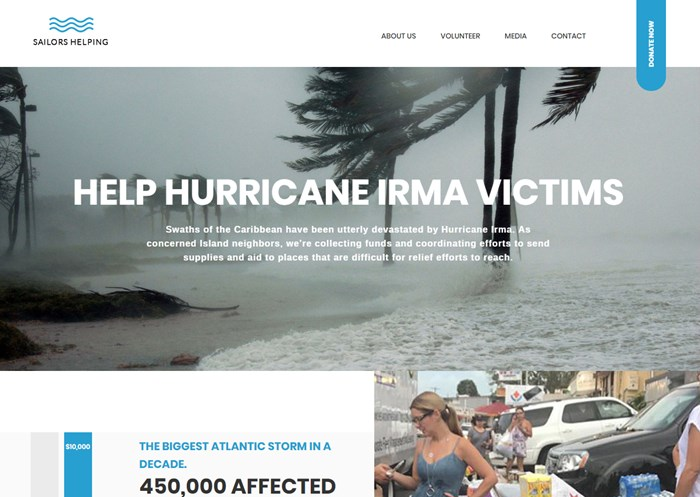 Yachting Community Responds in Hurricane Affected Regions