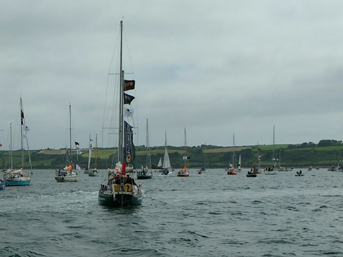 OCC Members Join Parade of Sail in Falmouth