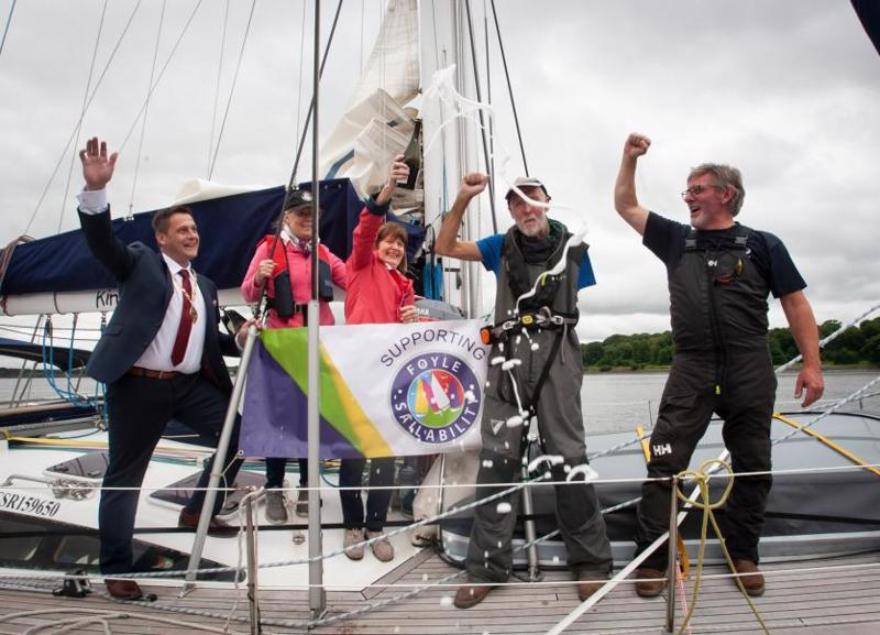 Garry Crothers returns home to Derry