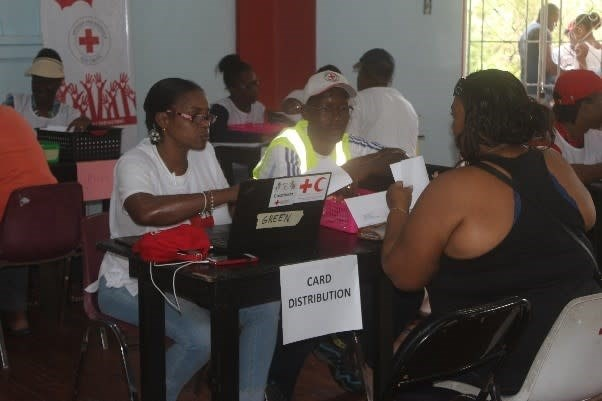 Antigua and Barbuda Red Cross Cash Transfer Programme commences