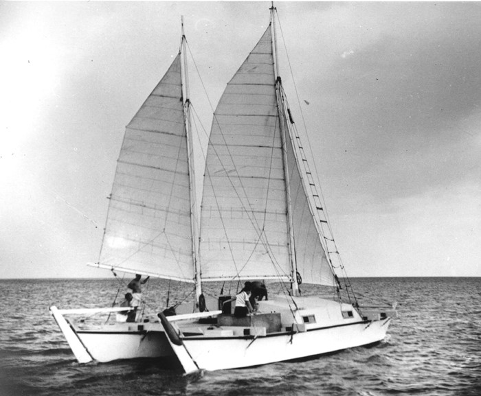 60th Anniversary of the First Crossing of the North Atlantic by Catamaran