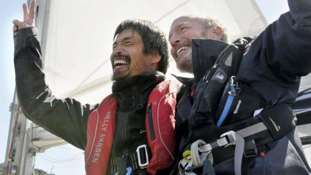 Blind Sailor Achieves Goal of Crossing the Pacific Ocean