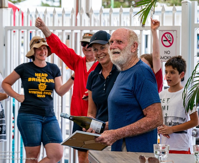 OCC Member Bill Hatfield Secures World Sailing  Speed Record