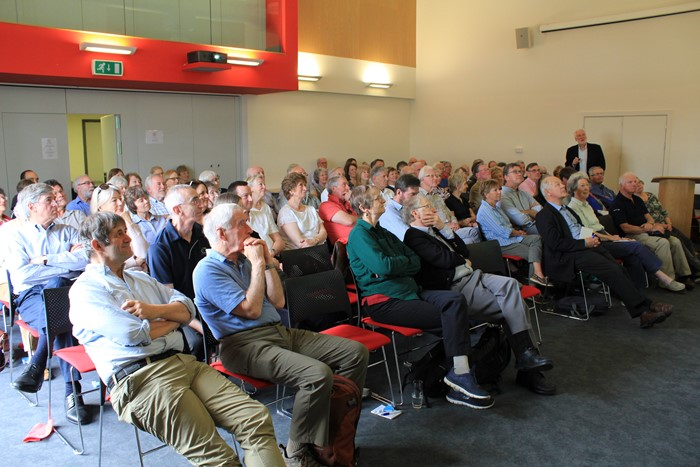 2018 AGM and lectures attracted a good turnout