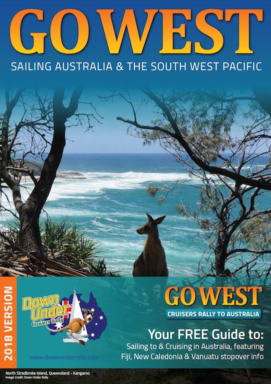 "Down Under Rally releases new ""Go West"" magazine"