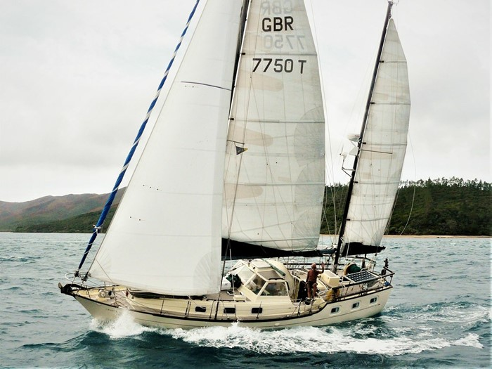 """Crazy Diamond"" - 1972 Van de Stadt Victory 40 ketch"