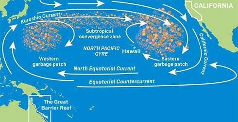 The Great Pacific Garbage Patch is Growing Exponentially