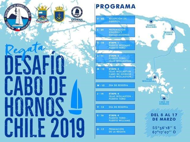 "First Regatta ""Challenge of Cabo Horn"", March 2019"