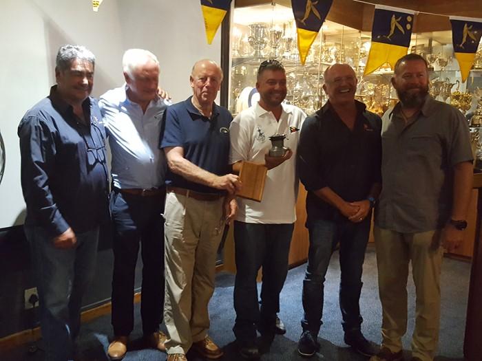 The OCC Seamanship Award presented to Dustin Reynolds