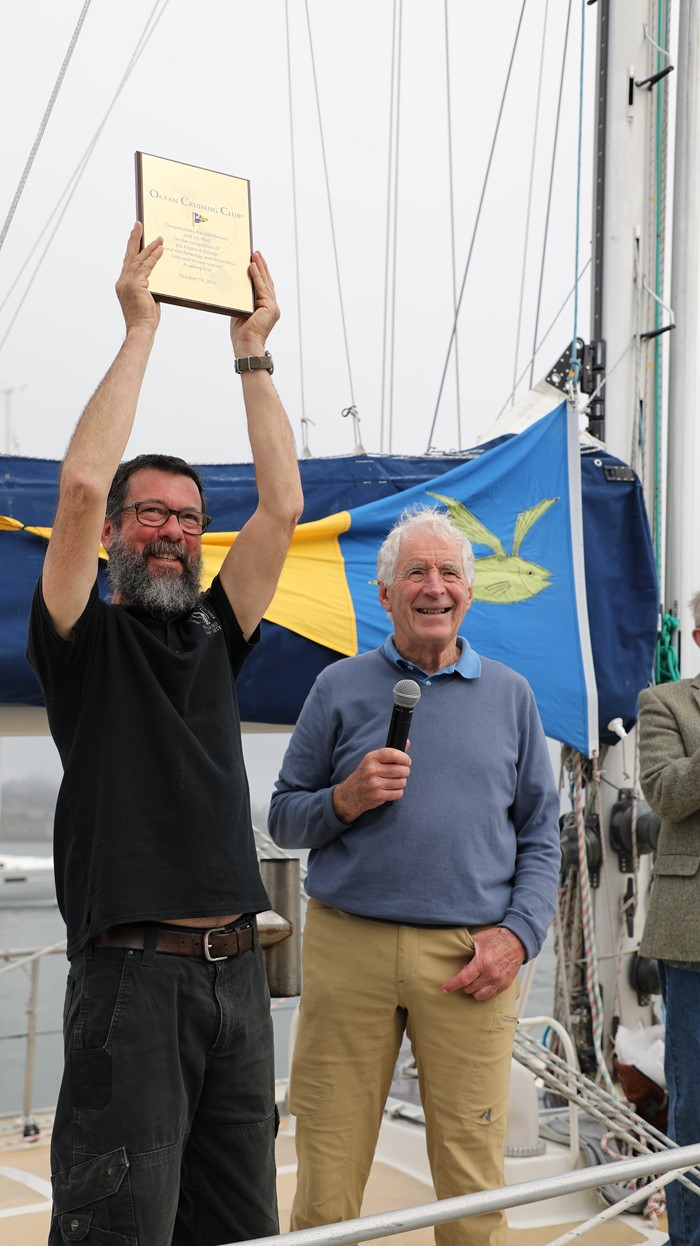Randall Reeves Completes Figure 8 Voyage - a First!