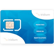 Iridium SIM card with 576 minutes
