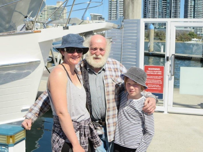 Australian Bill Hatfield has completed his solo circumnavigation