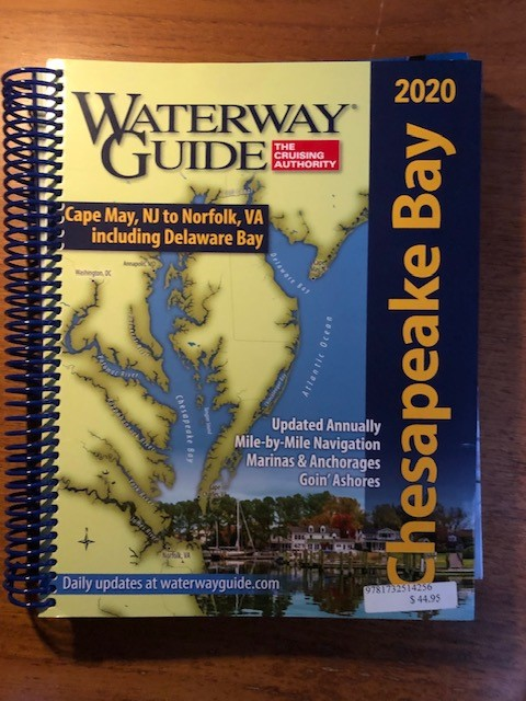 ICW 2020 Waterway Guide/Pilot Book for Cheasapeake Bay