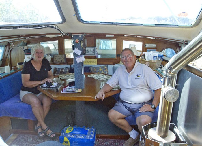 Boating couple has visited 49 countries