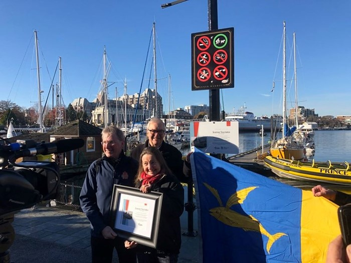 Jeanne Socrates honoured in Victoria, BC