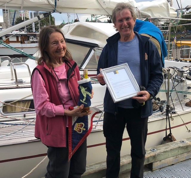 Jeanne Socrates sails into the record books again!