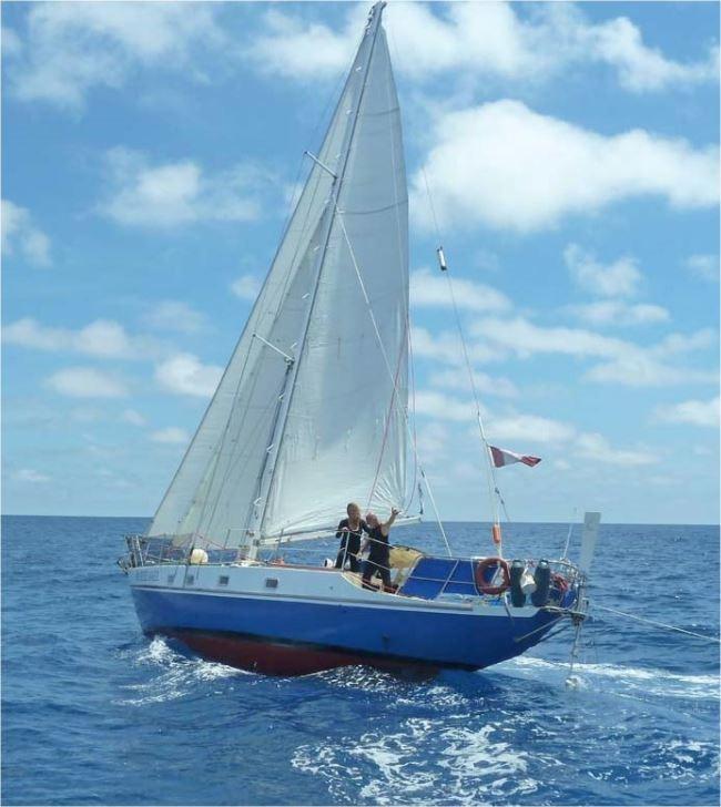 """Ar Seiz Avel"" - 42' cutter rig sailboat"
