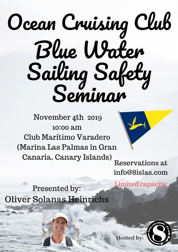 Ocean Cruising Club Blue Water Sailing Safety Seminar