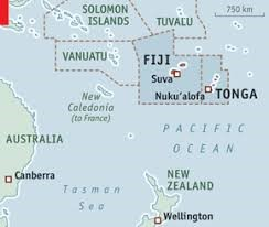 Advance Notice of Arrival required in Fiji and Tonga