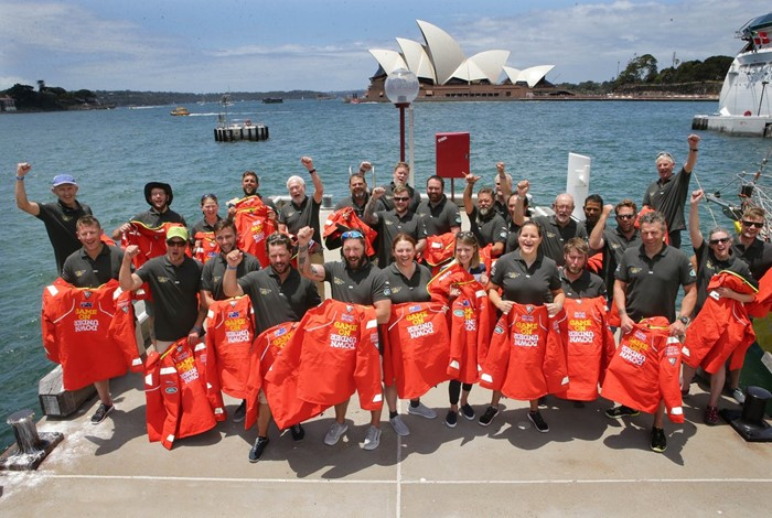 Wounded veterans join Sir Robin Knox-Johnston for Sydney to Hobart Race