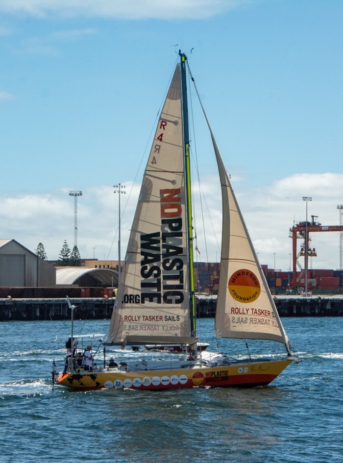 Jon Sanders Leaves on Historic 11th Circumnavigation