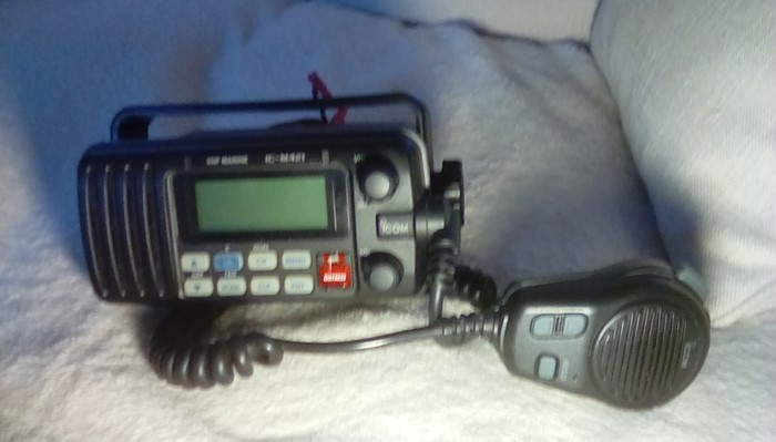 Icom IC-M421 DSC/VHF Radio