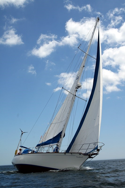 2008 Shearwater 39 - Grace, Pace ,Space.