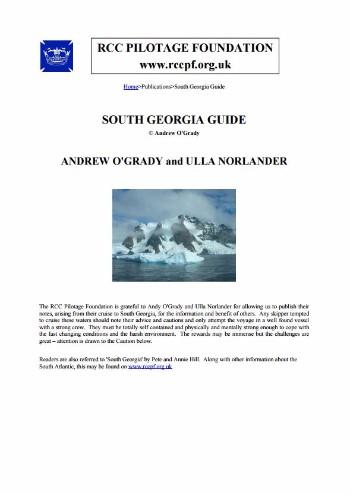 South Georgia Guide 2005