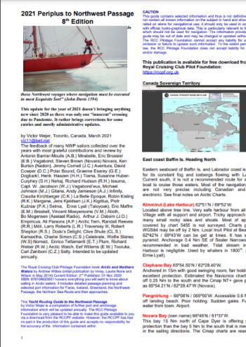 Periplus to Northwest Passage